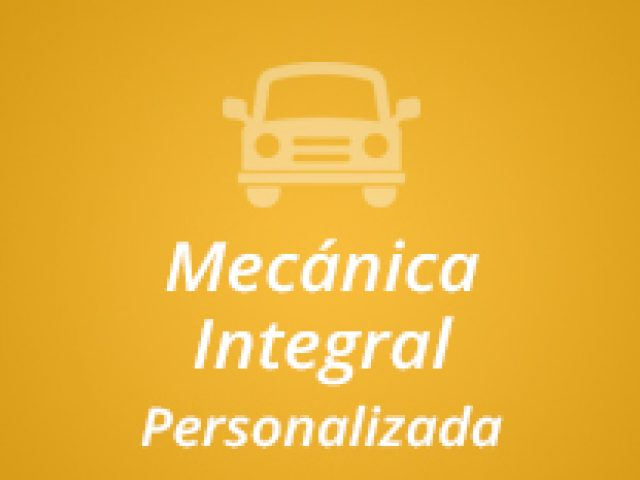Mecánica Integral Personalizada